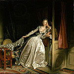 part 14 Hermitage - Fragonard, Jean-Honore - The Stolen Kiss