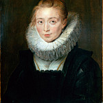 part 14 Hermitage - Rubens, Pieter Paul - Portrait of Lady-in-Waiting to the Infanta Isabella