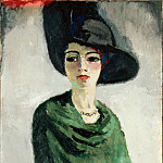 Van Dongen, Kees – Woman in a Black Hat, part 14 Hermitage