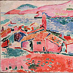 Matisse, Henri – View of Collioure, part 14 Hermitage
