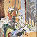 Matisse, Henri – Bouquet of Flowers on a Veranda, part 14 Hermitage