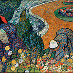 part 14 Hermitage - Gogh, Vincent van - Memory of the Garden at Etten (Ladies of Arles)