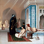 part 14 Hermitage - Gerome, Jean-Leon - Pool in a Harem