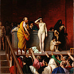 part 14 Hermitage - Gerome, Jean-Leon - The Slave Market in Rome