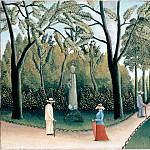 part 14 Hermitage - Rousseau, Henri - The Luxembourg Gardens. Monument to Shopin