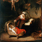 Rembrandt Harmensz. van Rijn – The Holy Family, part 14 Hermitage