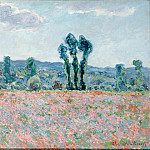 Monet, Claude – Poppy Field, part 14 Hermitage