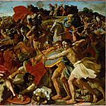 part 14 Hermitage - Poussin, Nicolas - The Victory of Joshua over the Amalekites