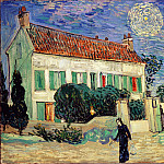 Gogh, Vincent van – The White House at Night, part 14 Hermitage