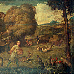 Titian – The Flight into Egypt, part 14 Hermitage