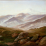 Riesengebirge (), Caspar David Friedrich