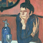 Picasso, Pablo – The Absinthe Drinker, part 14 Hermitage