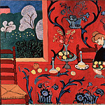Matisse, Henri – The Red Room , part 14 Hermitage