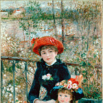 The Two Sisters (On the Terrace), Pierre-Auguste Renoir