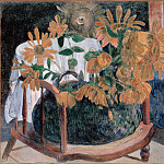 part 14 Hermitage - Gauguin, Paul - Sunflowers
