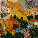 part 14 Hermitage - Gogh, Vincent van - Landscape with House and Ploughman