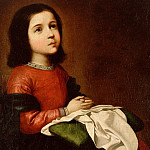 Zurbaran, Francisco de – The Childhood of the Virgin, part 14 Hermitage