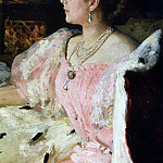 Ilya Repin - Portrait of Countess NP Golovina. 1896
