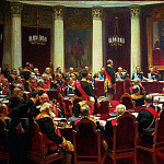 Ilya Repin - Inaugural Meeting of the State Council May 7, 1901 in honor of the centennial of the date of its establishment. 1903