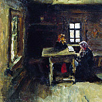 In the hut. 1878, Ilya Repin