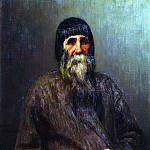 Ilya Repin - Portrait of a peasant. 1889