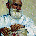 Portrait of Pavlov. 1924, Ilya Repin