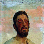 Portrait of a Man. 1890, Ilya Repin