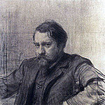 Portrait of the artist Valentin Serov. 1901, Ilya Repin