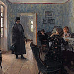 Ilya Repin - Do not wait. 1883-1898