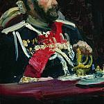Ilya Repin - Portrait of General A. Kuropatkin. 1903