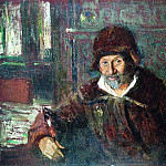 Ilya Repin - Self-portrait. 1920