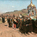Ilya Repin - Religious Procession in Kursk Province. 1880-1883