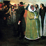 Ilya Repin - In the district office. 1877