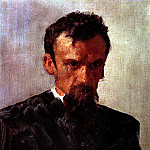 Ilya Repin - Head of a Man