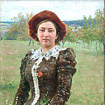 Ilya Repin - Autumn Bouquet. 1892
