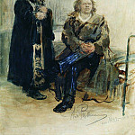 Ilya Repin - Denial of confession. Beginning 1880