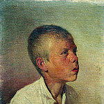 Portrait of a boy. 1881, Ilya Repin