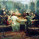 Ilya Repin - Last Supper. 1903