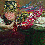 Dancer. 1920, Ilya Repin