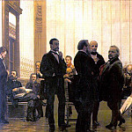 Ilya Repin - Slavic composers (Collection of Russian, Polish and Czech musicians). 1872