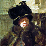 Portrait of the writer Natalia Nordman-Bori Severova, wife of the artist. 1911, Ilya Repin