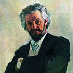 Ilya Repin - Portrait of a cellist AV Verzhbilov. 1895