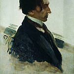 Ilya Repin - Portrait of the Artist I. Brodsky. 1910