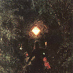 Ilya Repin - Walk with lanterns. 1879