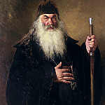 900 Classic russian paintings - Protodeacon. 1877