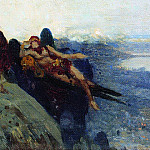 Temptation of Christ. 1896, Ilya Repin