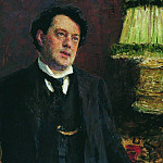 Portrait of a lawyer OO Gruzenberg, Ilya Repin