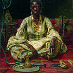 Negress. 1876, Ilya Repin