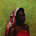 Negress. 1907, Ilya Repin