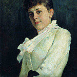 Ilya Repin - Portrait of a Woman. 1887